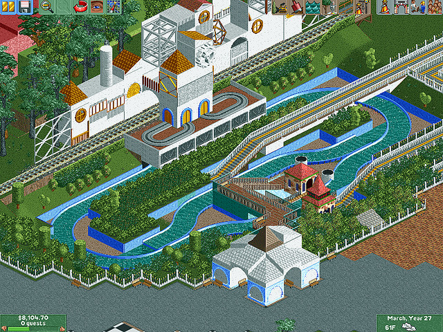 Disneyland RCT2 | Rendered Mouse